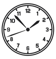 clock-Timer vector image vector image