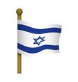 israel of flag vector image