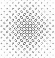 Black white diagonal ellipse pattern background vector image