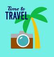 tourist travel vector image