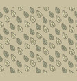 abstract floral seamless pattern with ornamental vector image