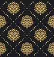 victorian baroque pattern vector image