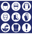 Construction Industry Icons vector image