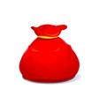 Bag of Santa Claus vector image