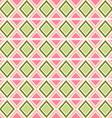 Seamless geometric ethnic pattern vector image