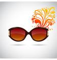 Realistic trendy woman sunglasses vector image
