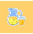 Jug Of Lemonade vector image