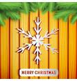 merry christmas light poster vector image
