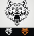 Tiger Face Tribal vector image