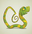 Green Snake vector image