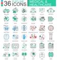 medical healthcare medicine modern color vector image vector image