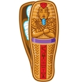 Mummy Sarcophagus vector image