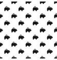 pig money box pattern vector image