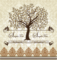Family Reunion Invitation Card vector image