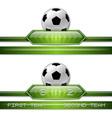 football score vector image