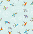 birdies pattern vector image