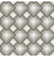 Black and white pattern with rhombuses vector image
