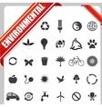 Enivornmental Icon vector image