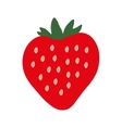 Strawberry sign pattern 2 vector image