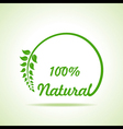 Eco friendly website icon stock vector image