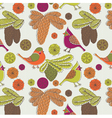 nature birds wallpaper vector image vector image