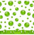 crystal green balls vector image