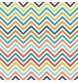 chevron colorful seamless geometric pattern vector image
