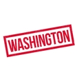 Washington rubber stamp vector image