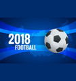 world cup background template flyer design layout vector image