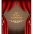 playbill with a scene vector image