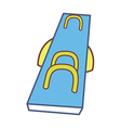 A seesaw vector image vector image