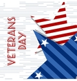 Stars with USA Flag in style  Creative vector image