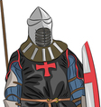 knight 5 vector image