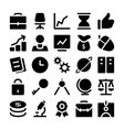 Finance and Money Icons 1 vector image