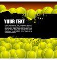 Balls background vector image