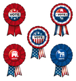 Ribbon Vote vector image vector image