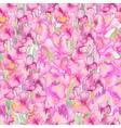 Gladiolus Floral pattern vector image