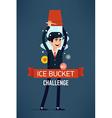 Ice Bucket Challenge vector image