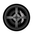 road car rim icon vector image