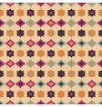 Seamless retro pattern geometrical texture vector image