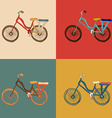 bicycle desing vector image