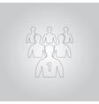 Leadership vector image