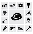 construction icon vector image vector image
