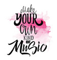 print t-shirts for music vector image