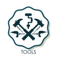 Tools icons design vector image