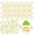Indian harvesting festival Happy Pongal vector image