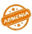 Armenia grunge icon vector image
