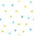 Color paint drops vector image