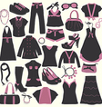 Elements of Clothing Store Icon vector image
