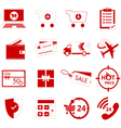 shoping icon vector image